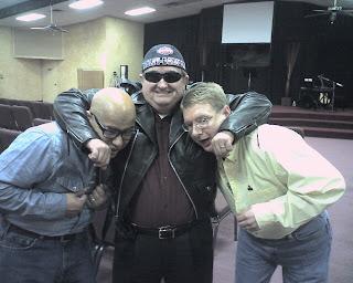 Jon Martinez, Buddy Martin and Rich Carlisle in character