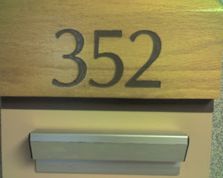 Sis. Betty is moving to room 352 at Cabrini