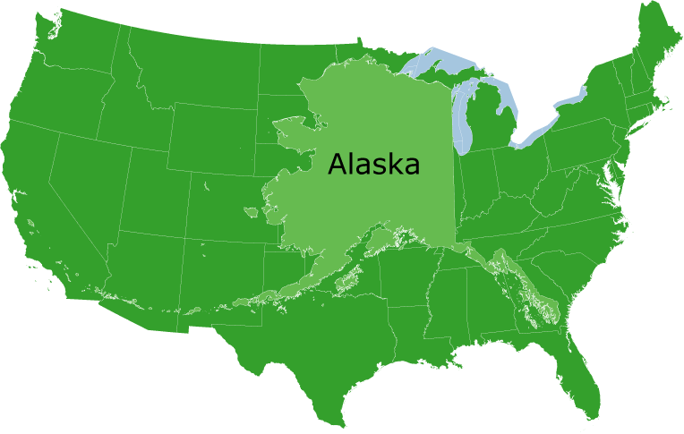 Imperialism - Us map after sewards folly