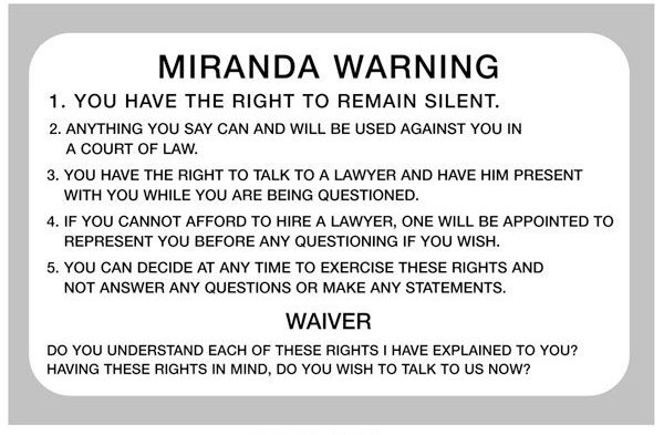 Miranda v Arizona - Infoplease