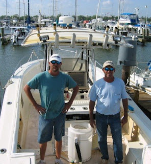 Fishing in the Gulf of Mexico on 9-Ball Fishing Charters