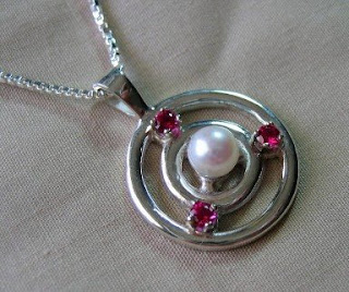 custom sterling silver pendant made by Payne's Custom Jewelry