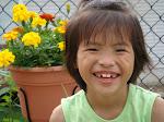 Jeannie's beautiful smile