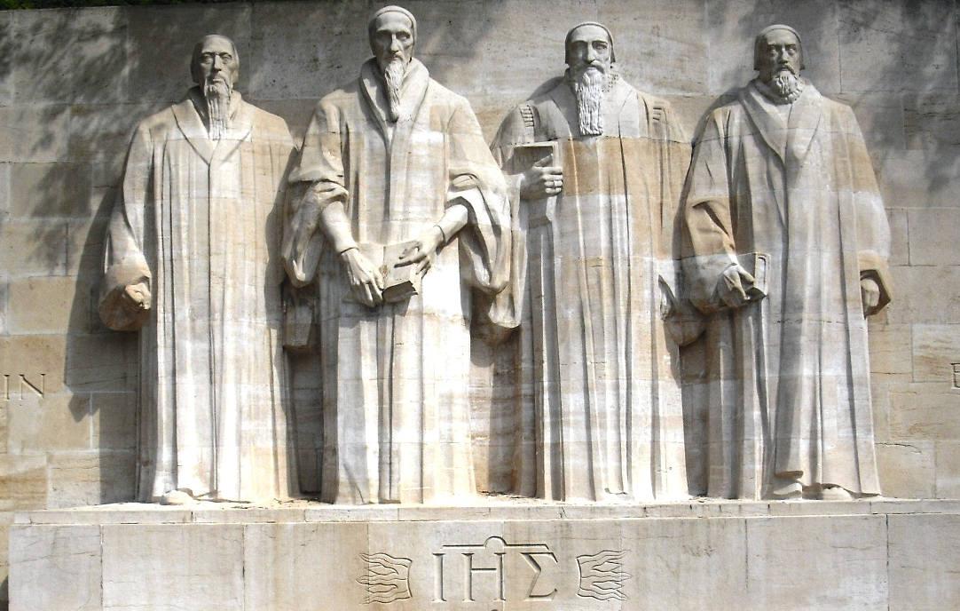 Resultado de imagem para estatua dos reformadores