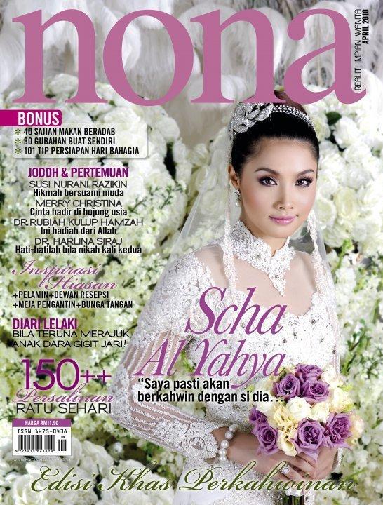 nona keluaran april 2010 edisi khas perkahwinan.