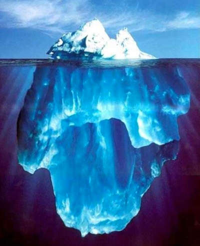 sigmund freud iceberg. Foto di atas adalah foto