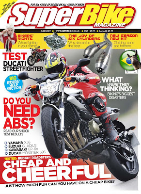 Revista SuperBike Magazine - Junho 2009 Superbikemagazine061009