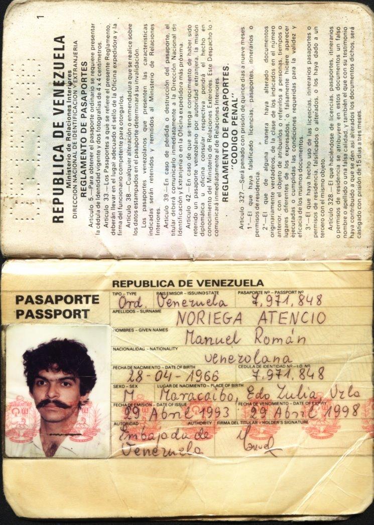 pasaporte manual