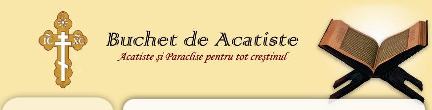 Buchet de Acatiste