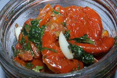 La recette des Tomates Séchées