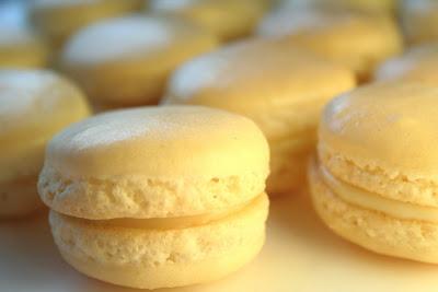 La recette des Macarons à la Fleur d'Oranger