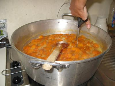 La recette de la Confiture d'abricots
