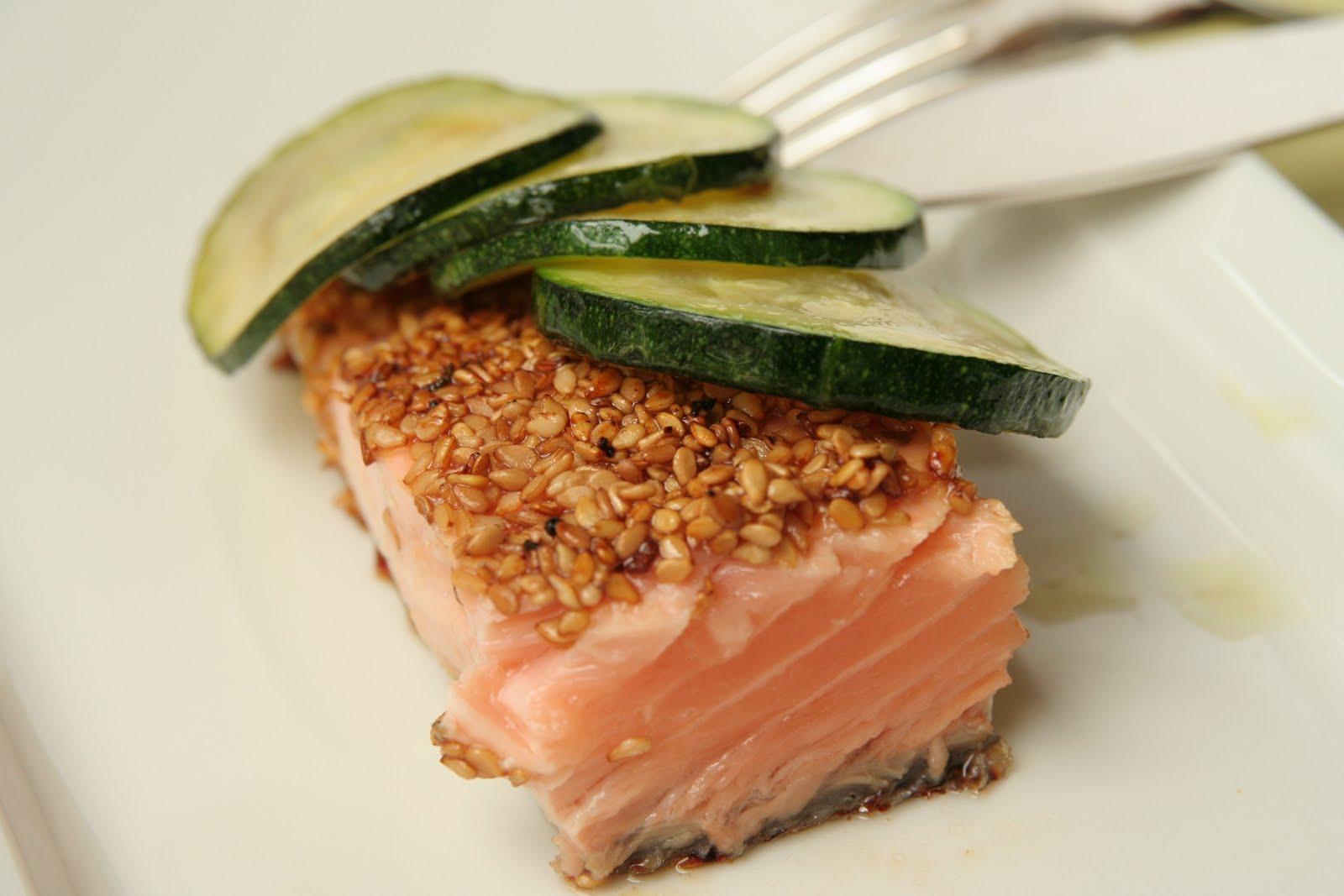 Du boucan dans la cuisine la recette du saumon au miel - Cuisiner un pave de saumon ...