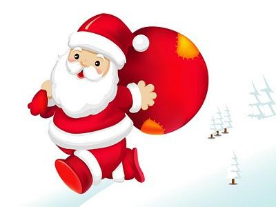 Božićne slike čestitke pozadine za desktop djed Mraz free download e-cards Santa Claus Christmas