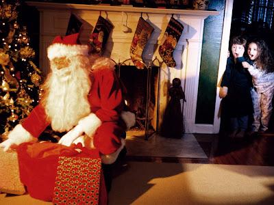 Božićne slike čestitke djed Mraz besplatne pozadine za desktop download free e-cards Christmas Santa Claus