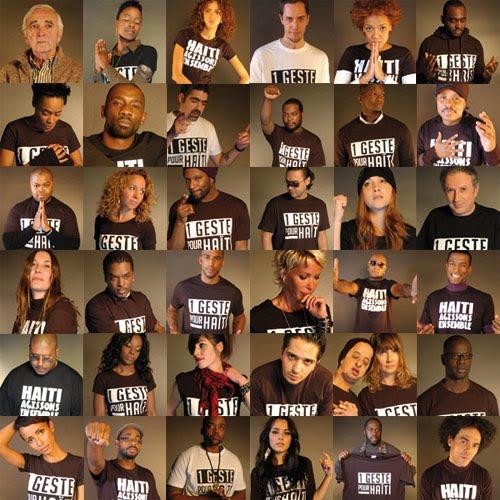 clip Un geste pour Haiti cherie