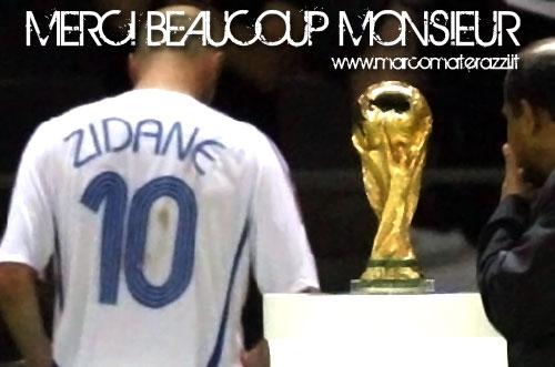 Materazzi répond à Zidane