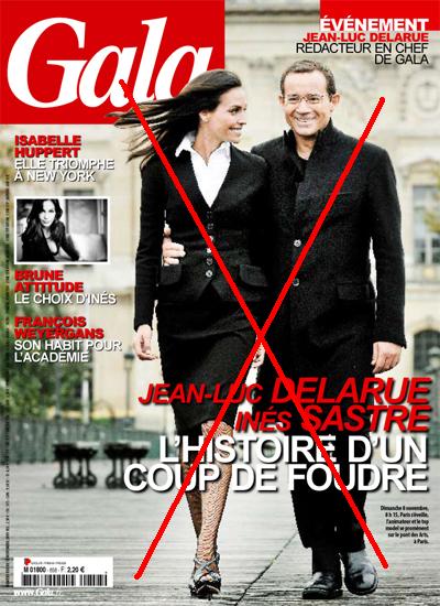 Jean-Luc Delarue Inès Sastre c'est fini