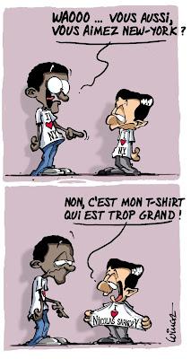 Le t-shirt I Love Nicolas Sarkozy