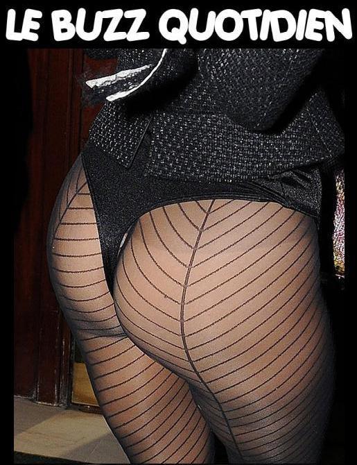 Lady Gaga en string