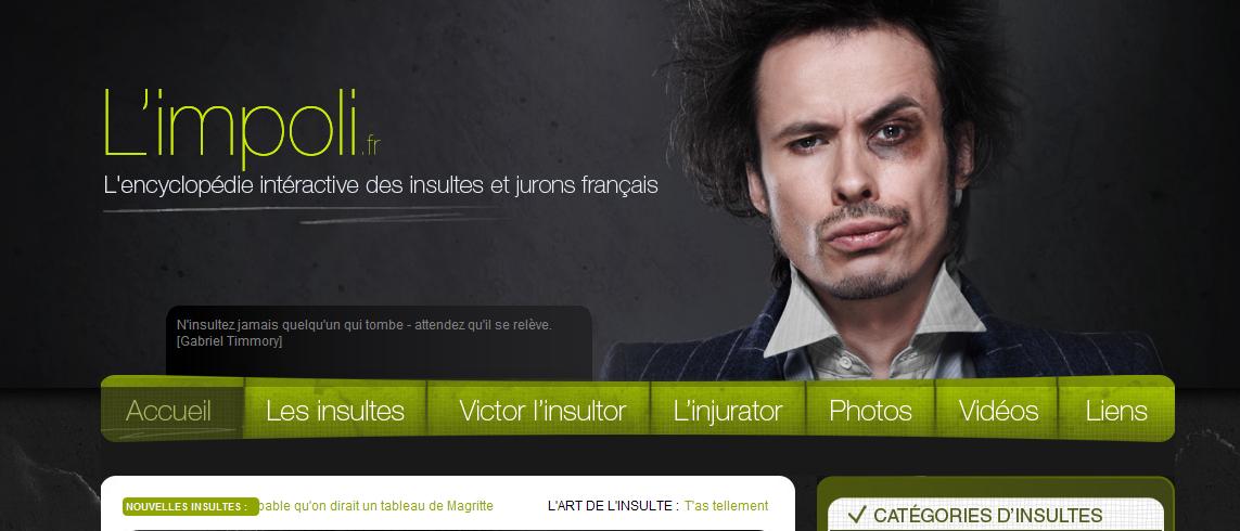 L'Impoli.fr, l'encyclopédie de l'insulte