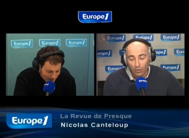 Revue de presque 25 juin 2010 Nicolas Canteloup vidéo