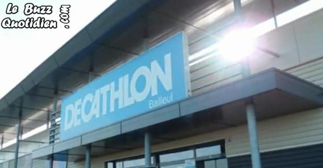vidéo Flashmob Decathlon Bailleul