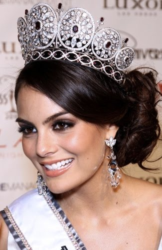 Jimena Navarrete Miss Mexique Miss Univers 2010