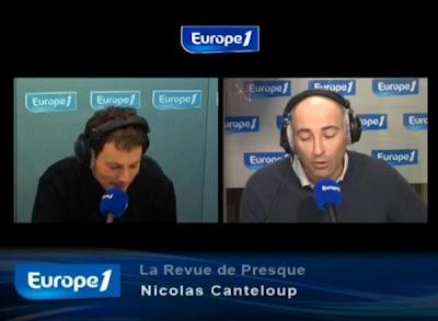 Revue de presque de Nicolas Canteloup mercredi 29 septembre 2010