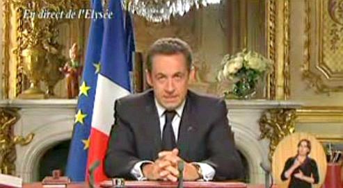 Vrais faux voeux 2011 Sarkozy parodie PCF
