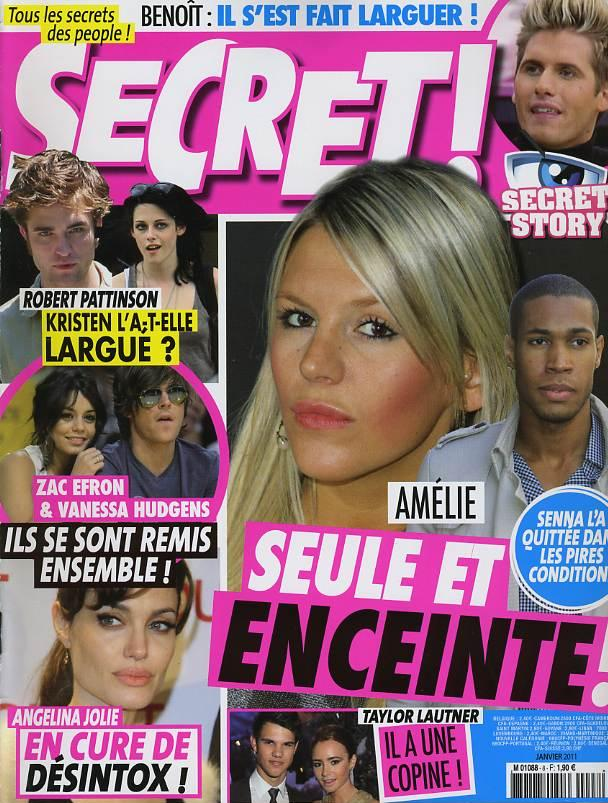 Amélie enceinte Senna