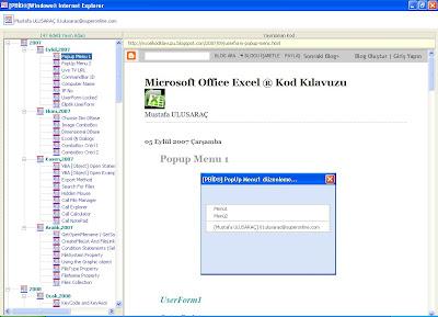 microsoft office excel 174 kod kılavuzu my blogs file manager