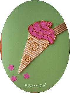 Ice+cream+cone+card