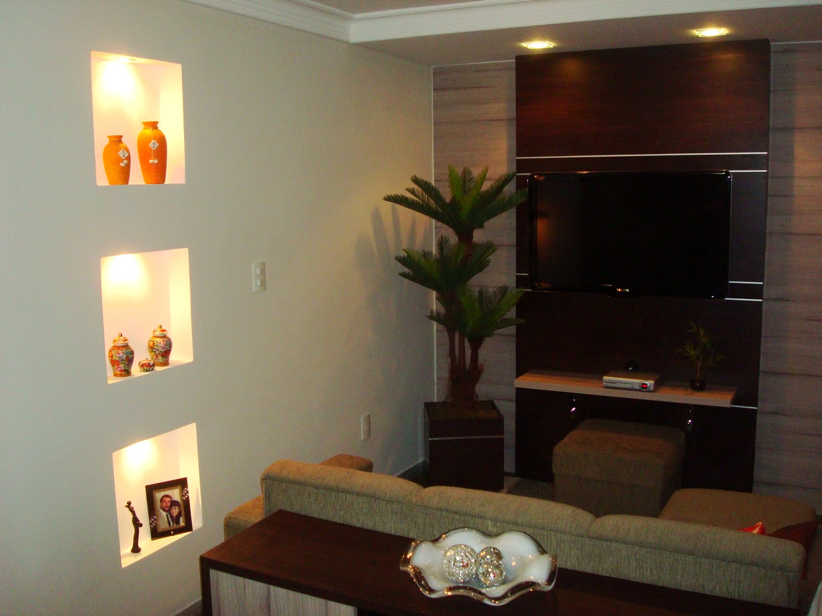 #C44407 ABF Móveis: Home / Sala de TV 1600x1200 píxeis em Como Decora Uma Sala De Tv Pequena