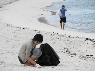 Beautify CNMI beach cleanup