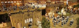 Belen navideño en la falla Na Jordana de Valencia