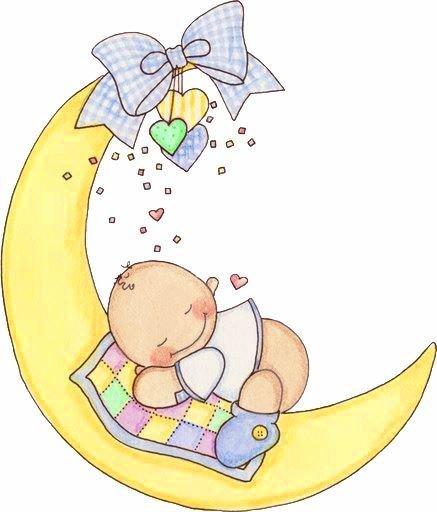 Bebe Tierno Durmiendo Dibujo Dibujo de Bebé Durmiendo en la
