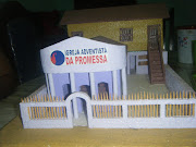 Maquete da IAP em Vila Bento-Tuntum