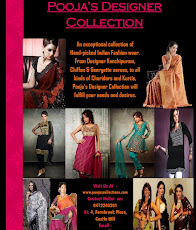 pooja's designer collection