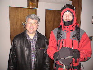 Fr Michael with Chris