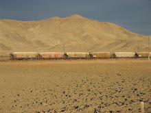 Train on the Dessert Plain