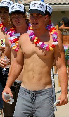 hot shirtless guys on the beach