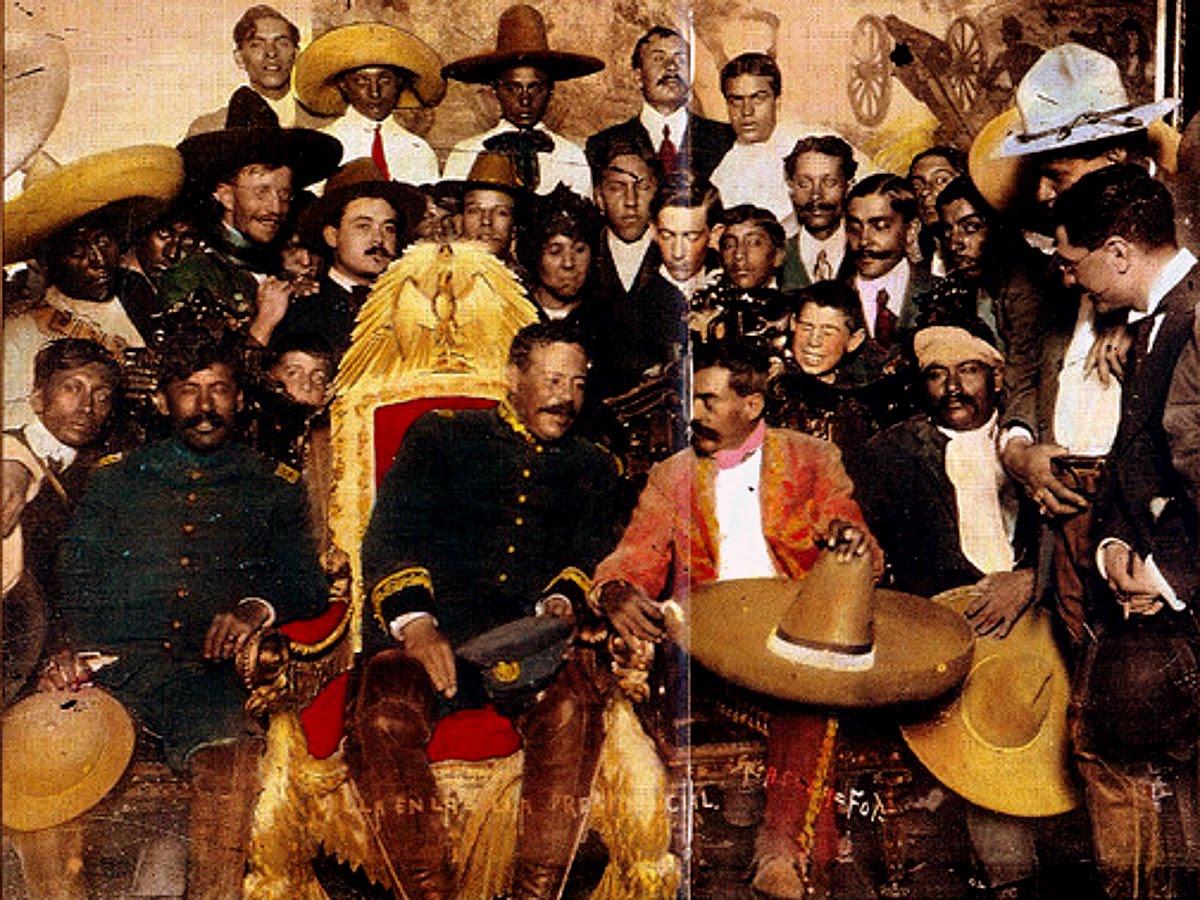 Fiesta mexicana en el giner un soldado de pancho villa for Villas zapata