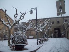 Sneeuw in Tarroja