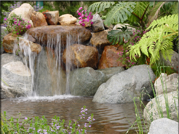 Pond liner and pond pumps australia build your own pond for Build your own waterfall pond