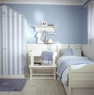 Franciskas vakre verden inspirasjon til barnerom gutt - Camera da letto azzurra ...