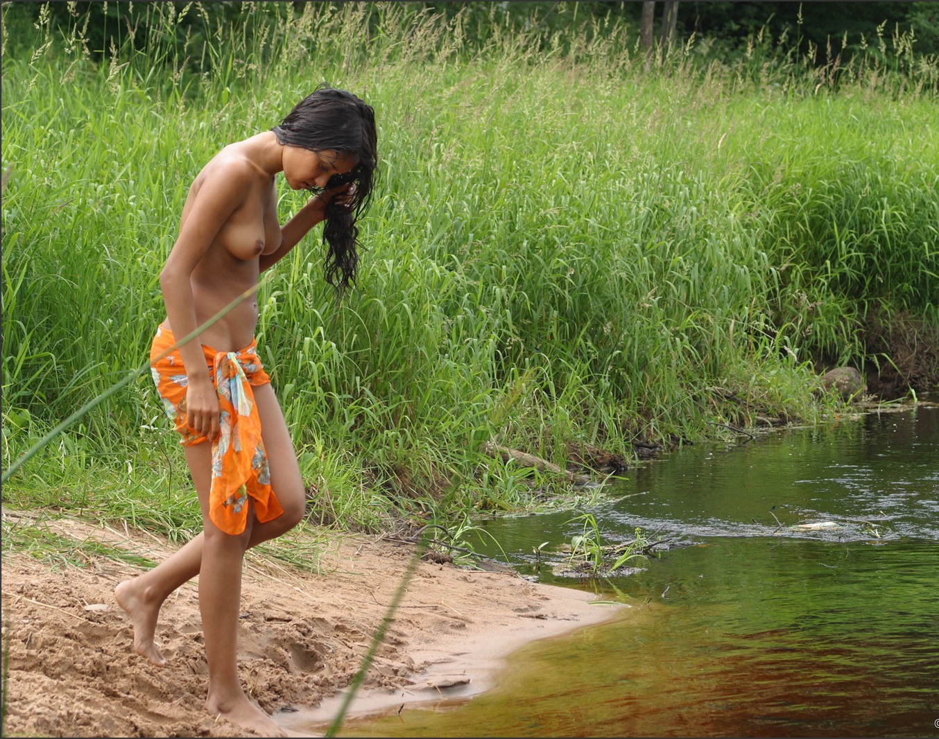 from Ean naked indian girl naked bathing