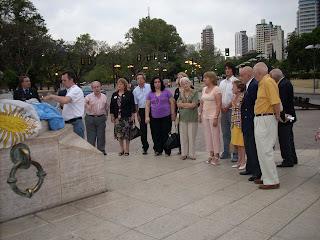 Leones en el monumento