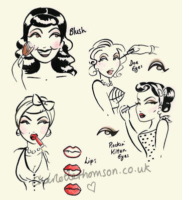50s pin up fashion. 50s Pin Up Fashion. here on