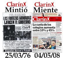 CLARIN MIENTE.